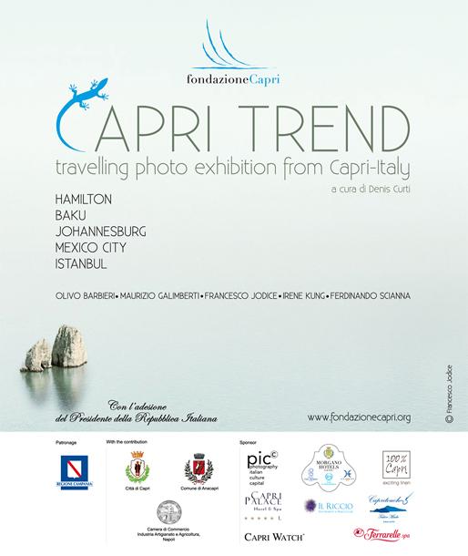 Capri trend travelling photo exhibition form Capri-Italy